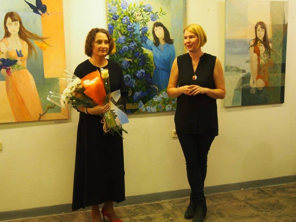 Жанна Свиридникова и Мария Бабаева