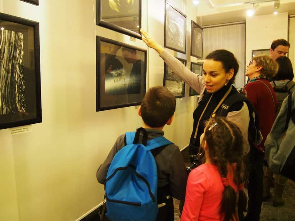 На выставке Жанны Свиридниковой