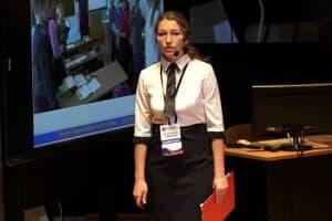 Виктория Стафейкова 30 сентября дала в прямом эфире конкурсный мастер-класс