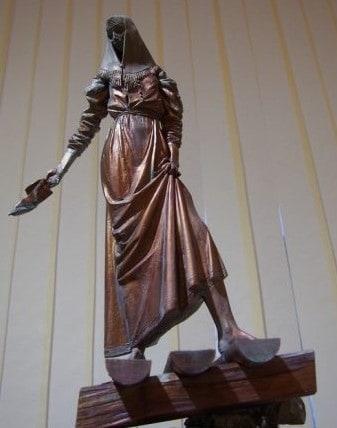 Павел Калтыгин. Эскиз памятника Федосовой