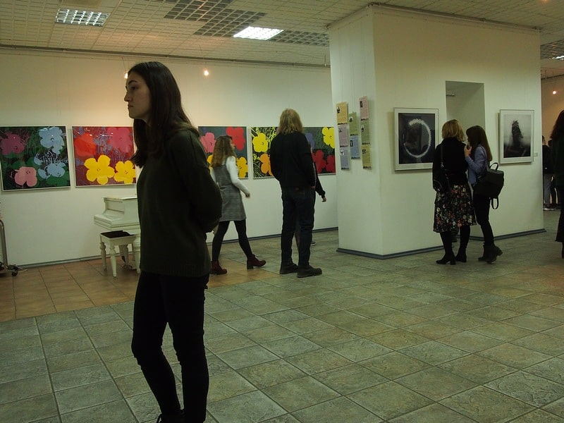 В Городском выставочном зале Петрозаводска открылась выставка «Поп-арт». Фото Ирины Ларионовой
