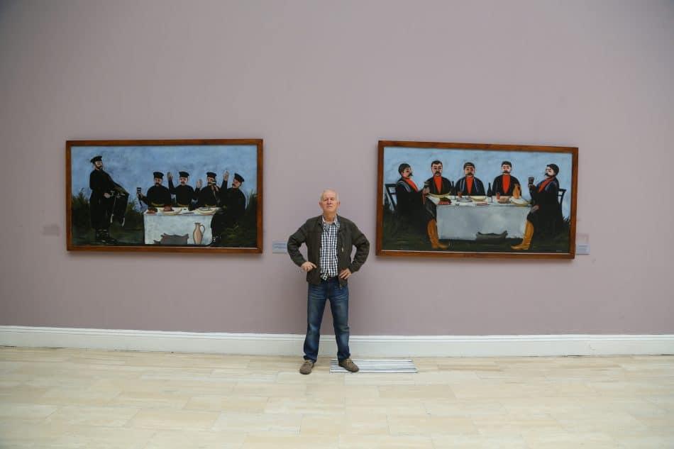 Владимир Ларионов в Национальной галерее