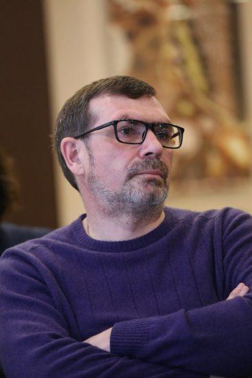 Павел Басинский в Петрозаводске в апреле 2017 года. Фото Владимира Ларионова