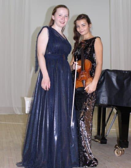 Анастасия Бойко-Харламова (слева) и Екатерина Врублевская