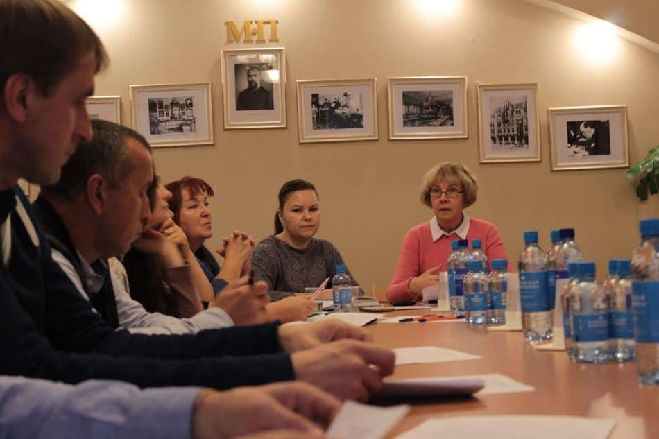 Общественный совет музея ведет Ирма Муллонен. 13 ноября 2018 года