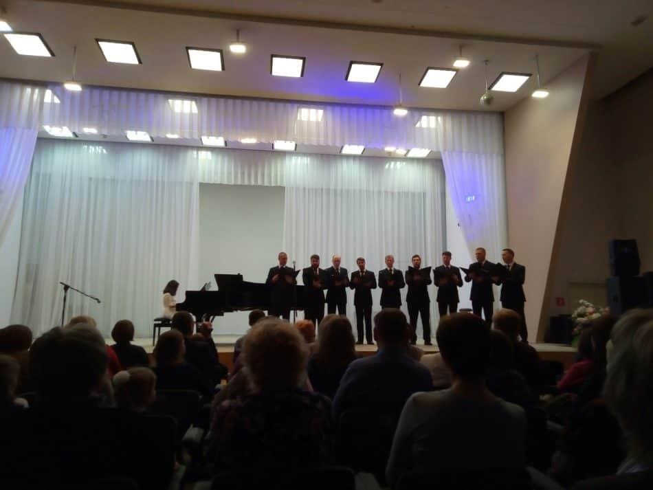 Ансамбль солистов Мужского хора Карелии