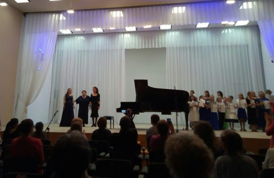 Нина Кайске и ее ученики