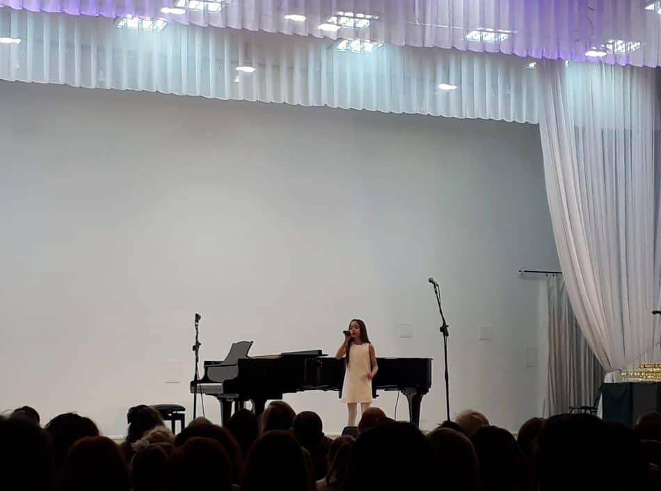 Кристина Базикян на гала-концерте. Фото: Мария Грицева