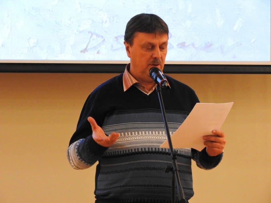 Олег Мошников. Фото Национальной библиотеки РК
