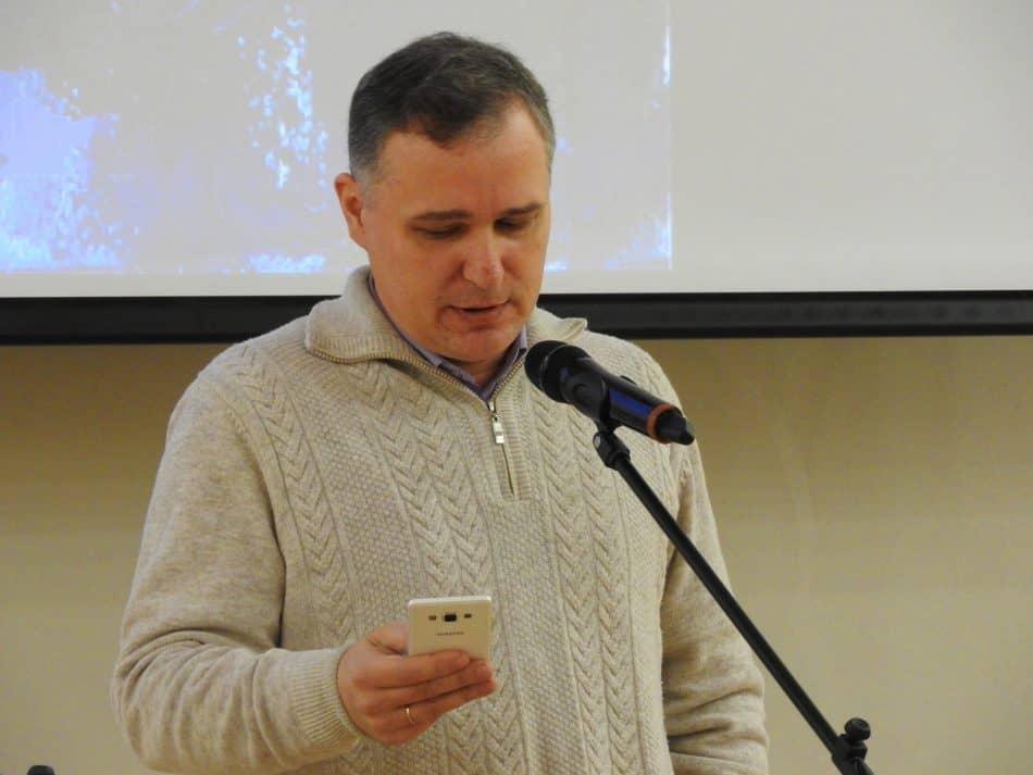 Дмитрий Горох. Фото Национальной библиотеки РК