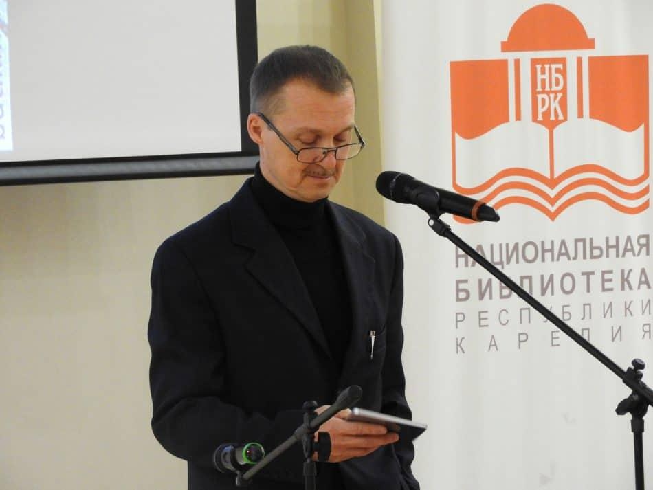 Дмитрий Гордиенко. Фото Национальной библиотеки РК
