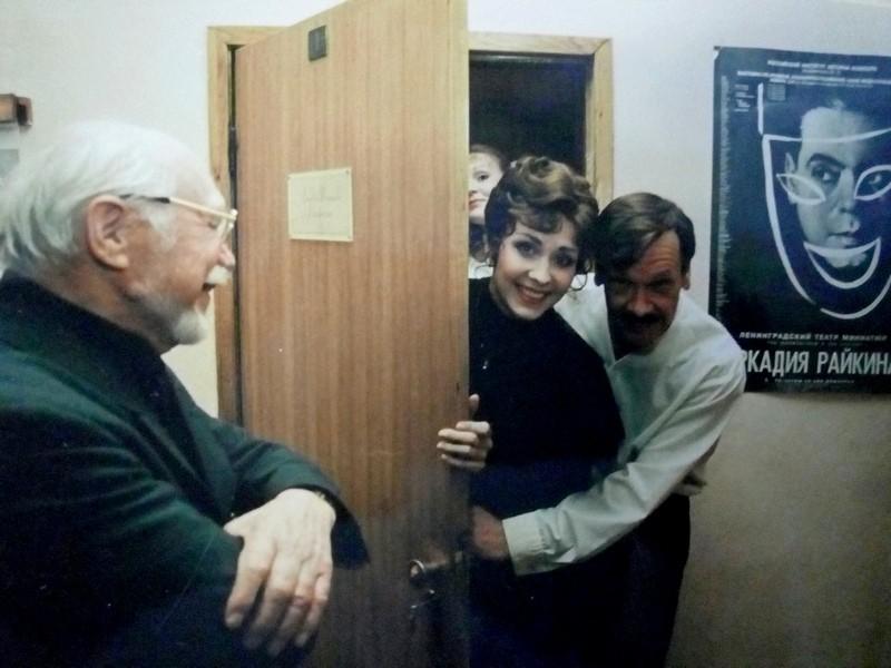 Иван Петров (слева), Виктория Федорова и Владимир Мойковский