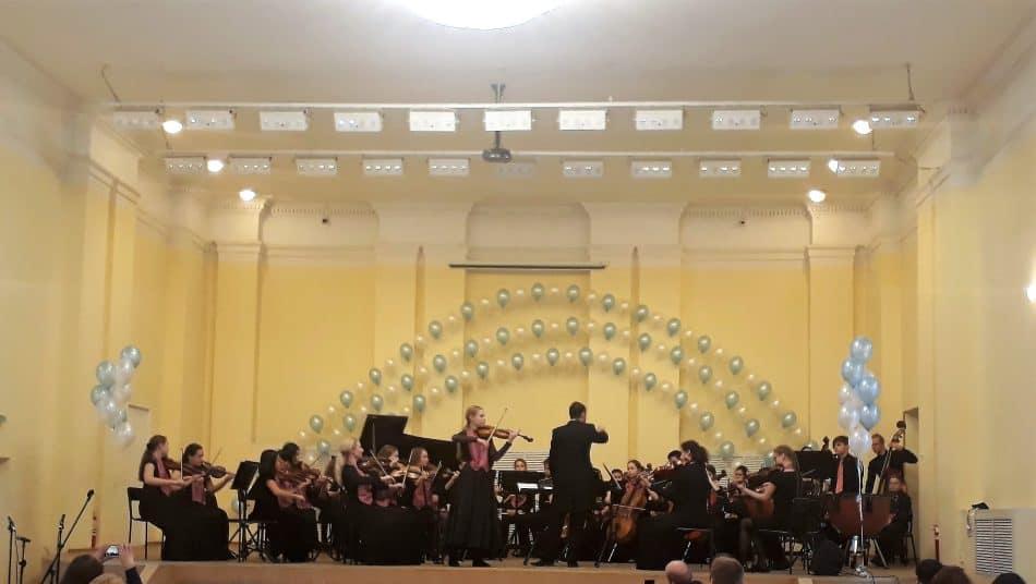 """Выступление оркестра """"Резонанс"""". Фото: Мария Грицева"""