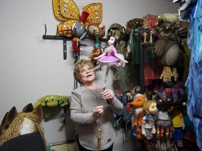 Людмила Терентьева в  волшебной комнате. Фото Ирины Ларионовой