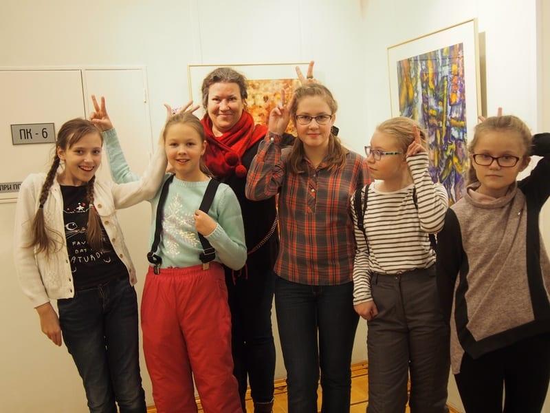 В Музее изобразительных искусств РК открылась выставка- игра, выставка-шутка «88 зайцев»