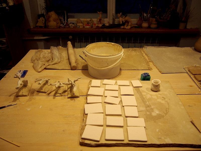 Студия керамики в в лофт-пространстве «Синий коридор». Фото Ирины Ларионовой
