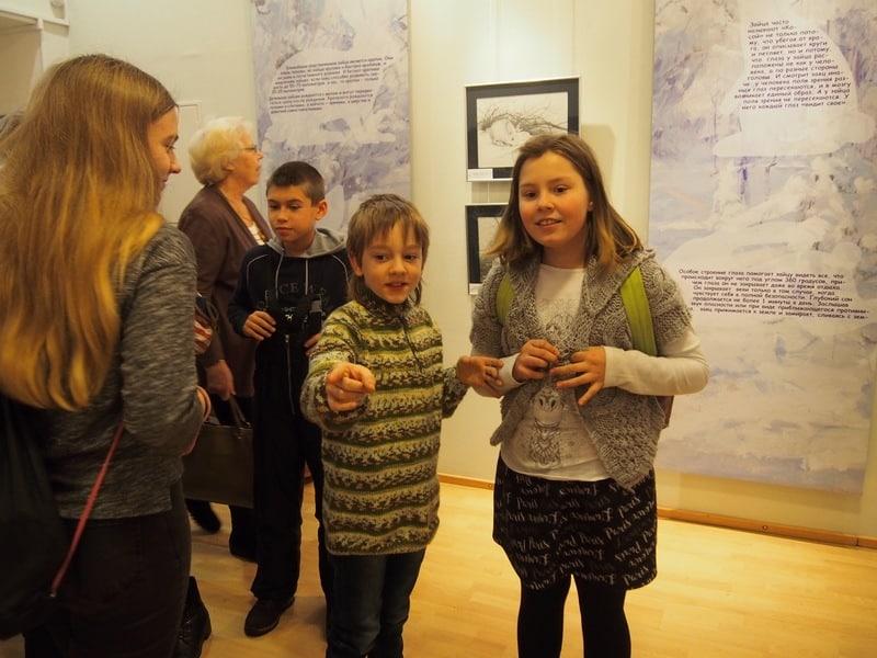 В Музее изобразительных искусств РК открылась выставка- игра, выставка-шутка под названием «88 зайцев»