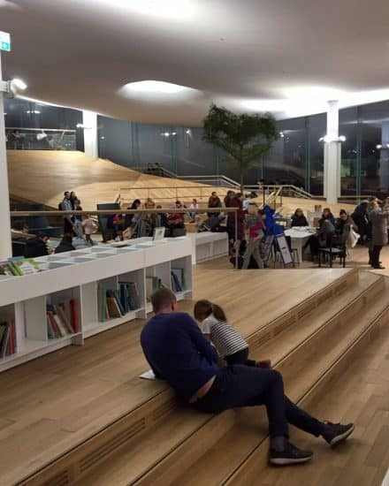 Библиотека Oodi в Хельсинки. Фото Ларисы Хенинен