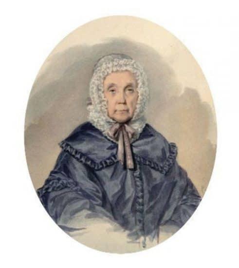 Бабушка Е.П.Янькова