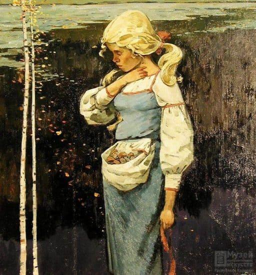 Николай Брюханов. Айно. Из собрания Музея изобразительных искусств Карелии