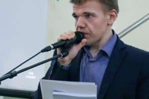 Дмитрий Косьмина. Фото: petrsu.ru