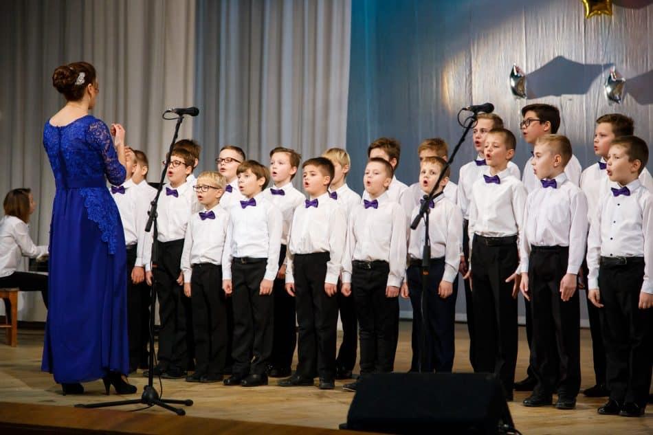 Концертныйо хор мальчиков. Руководитель Е.В. Кузовова