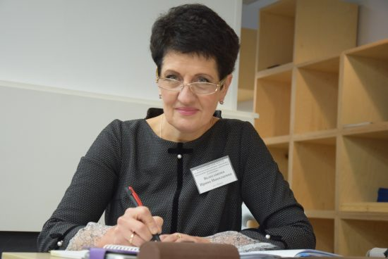 Ирина Велеславова. Фото Марии Голубевой