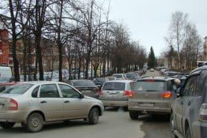 Петрозаводск, улица Энгельса - теперь Петербургская. Фото Юлии Свинцовой