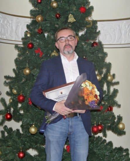 Стипендиат Евгений Таев