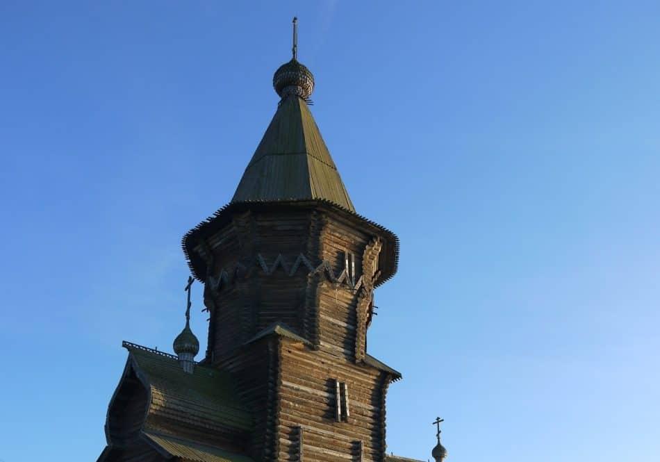 Успенская церковь в Кондопоге. Фото Ирины Соболевой