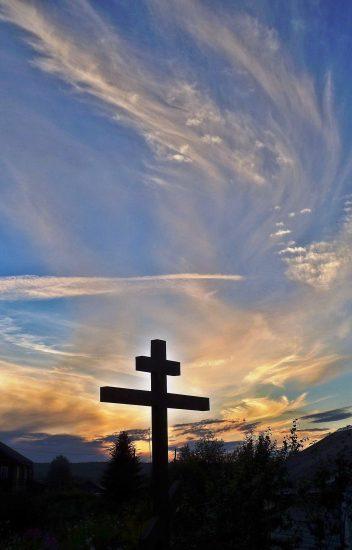 Вепсское небо. Фото монахини Афанасии (Наволоцкой)