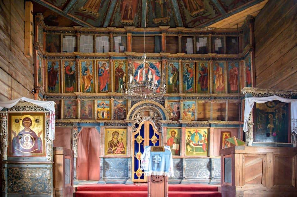 Интерьер Успенской церкви. Фото Ирины Соболевой