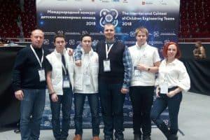 Команда детского технопарка «Кванториум Сампо» - абсолютный победитель международного конкурса детских инженерных команд  в направлении «Космическая станция»