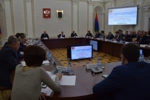На заседании Правительства Карелии 18 января 2019 года. Фото Марии Голубевой