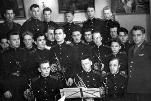 Лев Аронович с оркестром