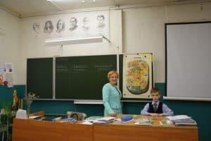 На уроке в одной из лучших сельских школ Карелии. Фото Марии Голубевой