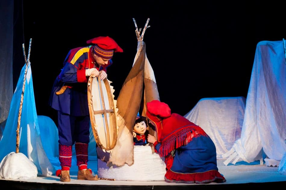 «Саммол Лаппалайнен». Фото Театра кукол РК