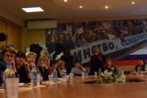 Дискуссия на Дне сельской школы Карелии в 2018 году. Фото: Мария Голубева