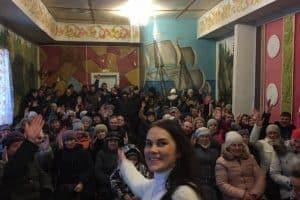 Встреча жителей Нюхчи 20 января. Фото: vk.com/public176737427