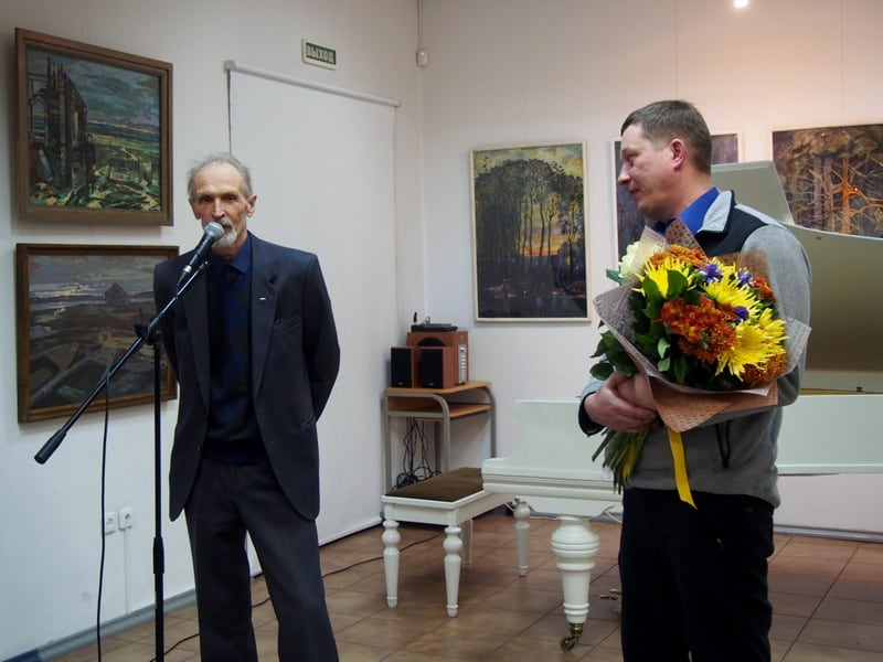 Валентин Чекмасов (слева) и Михаил Бурин