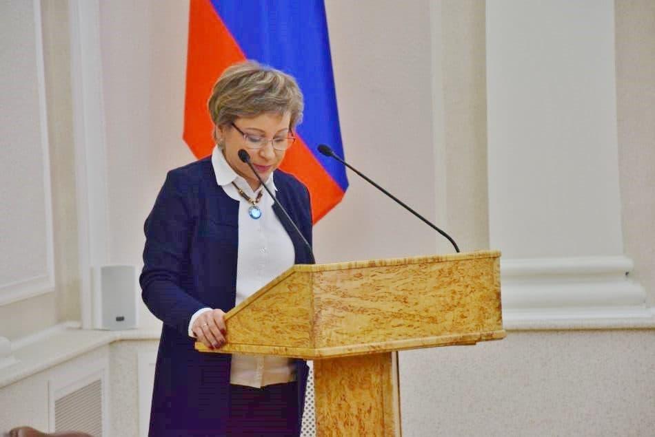 Лариса Подсадник. Фото Марии Голубевой