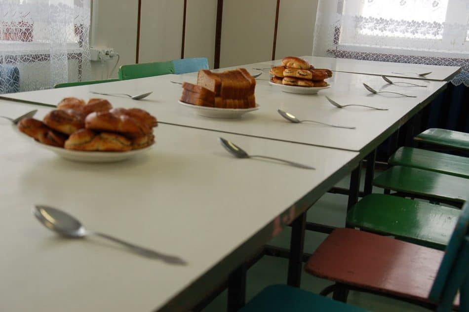 В столовой одной из карельских школ. Фото Марии Голубевой