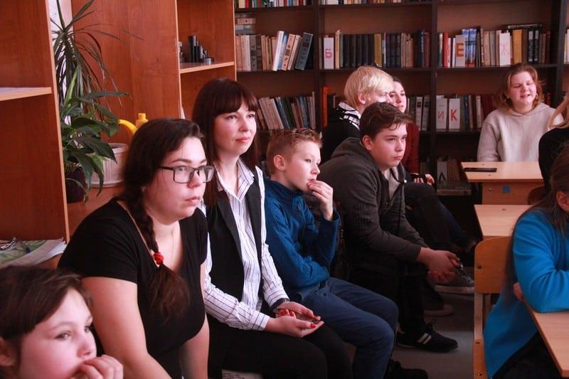 Творческая встреча в школе Рыбреки