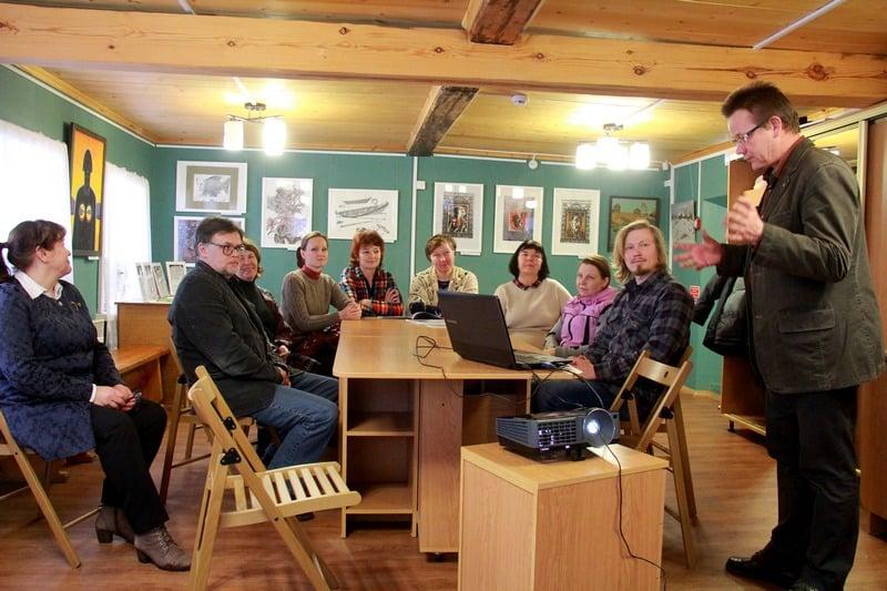 Обсуждение проекта в Шелтозерском вепсском этнографическом музее