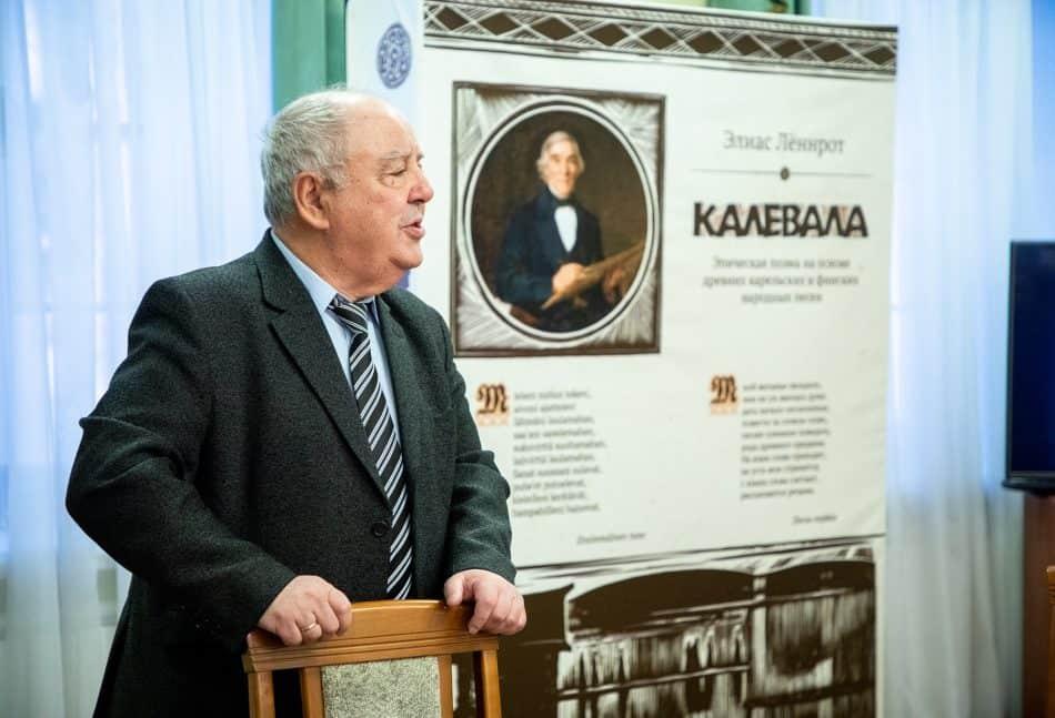 Директор Национального музея Карелии Михаил Гольденберг. Фото Леонида Николаева
