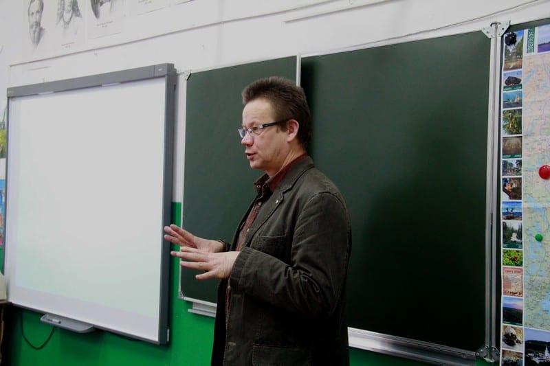 Владимир Зорин, председатель Карельского регионального отделении Союза художников России, куратор проекта