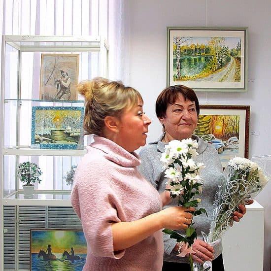 И.о. директора Центра национальных культур и народного творчества Татьяна Леднева (слева) и Мария Капушева