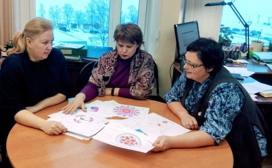 В администрации Петрозаводска изучают варианты временного дизайна центральной части площади Гагарина. Фото: vk.com/ptz_mo