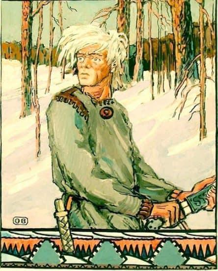 """Осмо Бородкин. """"Куллерво"""". Из собрания Национального музея Карелии"""