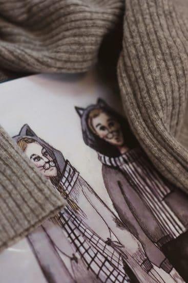 Эскизы костюмов к спектаклю Кошкин дом. Фото Музыкального театра РК